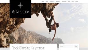 Шаблон WordPress Adventure