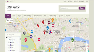 Шаблон WordPress Cityguide