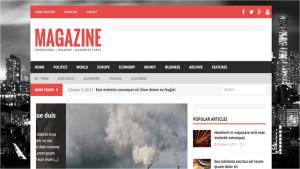 Шаблон WordPress Magazine