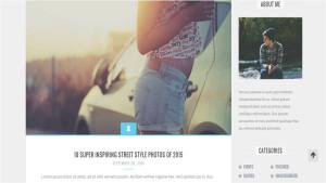 Шаблон WordPress Myblog