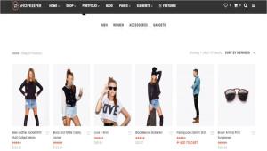 Шаблон WordPress Shopkeeper