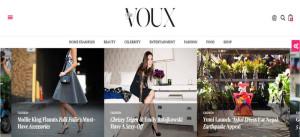 Шаблон WordPress Voux