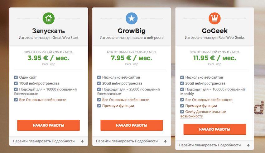 Как создать сайт самостоятельно на хостинге SiteGround?