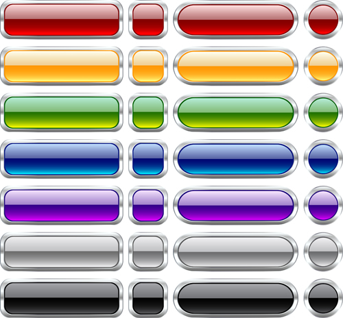 Пример шаблонов кнопок для сайта